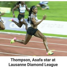 @Regrann from @jamaicaobserver -  Double Olympic sprint champion Elaine Thompson overcame a start fiasco to produce a dominant run to win her favoured 100m at the Lausanne Diamond League meet on Thursday.  Thompson who became the first woman since American world record holder Florence Griffith Joyner at the Seoul Games in 1988 to win the sprint double at the Olympics timed 10.78sec for the comfortable victory American Jenna Prandini in second in 11.11sec.  Read more at http://ift.tt/1U30JJw…