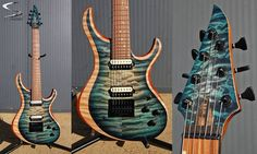 skervesen raptor 6 25 5 scale with raptor headstock in skervesen rh pinterest com Santos Guitars Santa Cruz Glen Burton Guitars