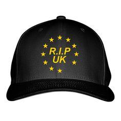 RIP UK Embroidered Baseball Cap