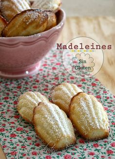 Tartas sin Gluten .....365 dias sin gluten: Madeleines Sin Gluten