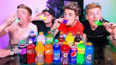 BRITISH BOYS TRY AMERICAN SODAS/DRINKS *TASTE TEST*