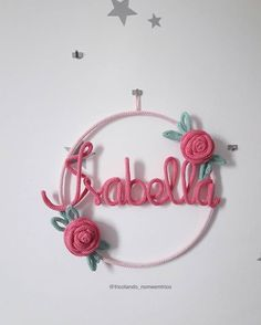 Crochet Alphabet, Crochet Letters, Bride Reception Dresses, Baby Staff, Spool Knitting, Embroidery Hoop Crafts, Painted Sticks, Wire Crafts, Mason Jar Crafts