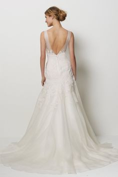 """Watters - San Francisco. Found at Bliss Bridal off of Camp Bowie """"off the rack""""."""