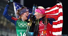Kikkan Randall & Jessie Diggins Win Team USA's First Women's Cross-Country Skiing Olympic Medal - And It's Gold!