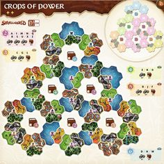 """Oh my, and I thought the go east scenario was nasty. In """"Crops of Power"""", you'll be able to capture additional powers by occupying arreas around them. Yikes!"""