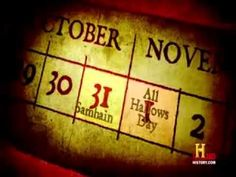 Video--History Channel The Real Story of Halloween Part 1 of 3