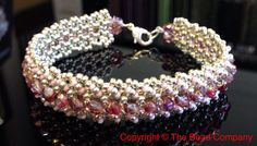 Tennis bracelet - a luxurious design!  http://www.thebead.co.uk/acatalog/Jewellery_Making_Classes_Glasgow.html