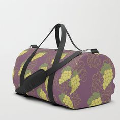 We upped the Duffle Bag game. Your new favorite gym and travel bags feature crisp printed designs on durable poly poplin canvas. Constructed with premium details for ultimate comfort. Available in three sizes.     - Durable poly poplin, canvas-like exterior   - Soft polyester lining with interior zip pocket   - Adjustable shoulder strap with foam pad and carrying handles   - Double zipper pull tabs for easy open/close   - Brushed nickel metal har...