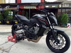 Honda CB 650F ปี 2015