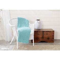 Free Easy Blanket Knit Pattern | Bernat | Yarnspirations | Bernat Maker | Free Pattern