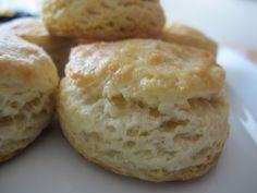 homemade buttermilk biscuits - po' man meals (pomanmeals.com) #recipe #biscuits #bread