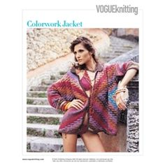 Vogue Knitting Spring/Summer 2005 #8  design by Kaffe Fassett