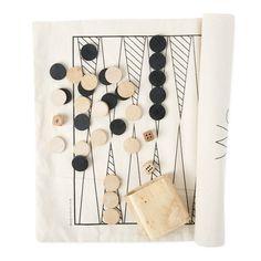 Wantful - Winter Shop - Backgammon roll-up set (Backgammon)