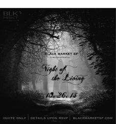 CIRCUS 212 will displaying some of our lines at: Black Market SF - Night of the Living !  Black Market SF is a gathering of the City's best craft and food artisans under an intimate evening setting.  Date: Saturday, October 26th, 2013. Time: 7:00 PM - Midnight.  Location:  To be announced (6500 sq ft art gallery, San Francisco)  RSVP for FREE entry @blackmarketsf.com