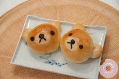 Rilakkuma Custard Buns Recipe (Hungary At Midnight), Tangzhong method