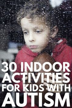 30 Indoor Activities for Kids with Autism for Bad Weather Days!, , Activities for Kids with Autism Autism Sensory, Autism Activities, Art Therapy Activities, Sensory Activities, Sensory Play, Activities For Autistic Children, Is My Child Autistic, Indoor Activities For Kids, Psicologia