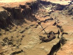 Spanish treasure ship lost for four centuries in the California desert