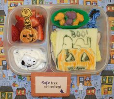 Molly's Lunch Box: It's The Great Pumpkin Lunch!