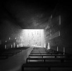 Interior. Project of church in Wroclaw, Poland. Competition entry. Nowe Zerniki estate. Authors: OVO Grabczewscy Architekci Marta Lata Dobrochna Lata Mateusz Pietryga Łukasz Migała