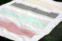 Lace and Cotton Blanket
