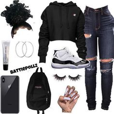 You can also see more ideas about cool outfits plus size , cool outfits for teens , cool outfits sommer , cool outfits for college , cool ou. Swag Outfits For Girls, Cute Swag Outfits, Teenage Girl Outfits, Cute Comfy Outfits, Cute Outfits For School, Teen Fashion Outfits, Dope Outfits, Trendy Outfits, Teenage Clothing