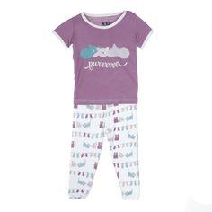 Kickee Pants Little Kittens' Lost Mittens Short Sleeve Pajamas