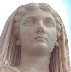 Livia Drusila o Julia Augusta (58 a. C.-29 d. C.), fue la tercera esposa del emperador Augusto. Era hija de Marco Livio Druso Claudiano, el cual se suicidó en la batalla de Filipos. Se casó en primeras nupcias con Tiberio Claudio Nerón, a quien dio dos hijos:Tiberio Claudio Nerón y Druso. Recibió el título de Augusta después de que Tiberio se negase a hacerlo. En 42 a. C., su padre la casó con Tiberio Claudio Nerón, su primo, que luchaba con él y contra Octavio.