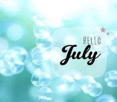 Calendrier Juillet 2015 Hello July - Lily Ciboulette www.lilyciboulette.com