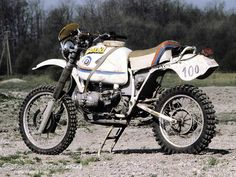 Works-BMW R 80 GS - winner bike of the 1981 Paris-Dakar Rallye