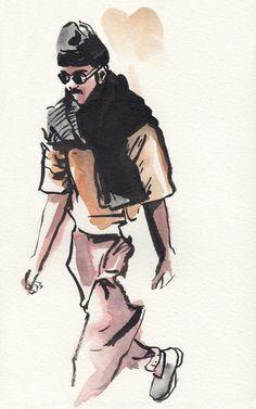 Interview Ave | Menswear Illustrator Matthew Miller