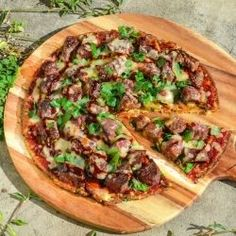 Low Carb Pizza - A pizza crust that is paleo, gluten-free, low carb, low cal and actually good for you!