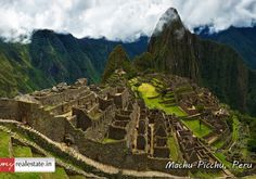 "#‎Machu‬ ‪#‎Picchu‬ also known as ""The lost City of the Incas"" is 7,970 ft above sea level and situated on Andes mountain ridge, ‪#‎peru‬ ‪#‎SouthAmerica‬. It is believed that no transport was used to carry these stones up to mountain. It is one of the most well-preserved Inca cities and an archaeological gem. ‪#‎worldheritagesite‬ ‪#‎placestosee‬ ‪#‎mustvisit‬"