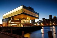 ICA (Institute of Contemporary Art)- Boston- USA. Founded in the actual place opened in 2006 and was designed by Diller Scofidio + Renfro. ♥ by 2014 Day Trips From Boston, Places In Boston, Local Museums, Boston Museums, Institute Of Contemporary Art, Boston Massachusetts, Historical Sites, Art Museum, Night Life