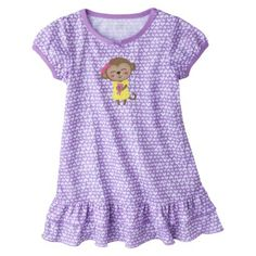 Just One You™ Made by Carter's® Infant Toddler Girls' Short-Sleeve Nightgown