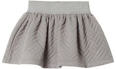 Cyrillus Grey Quilted Skirt