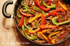 Jamaican Pepper Steak   Cook Like A JamaicanCook Like a Jamaican