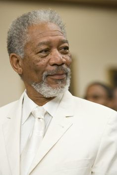 morgan freeman...one of my favorite actors of all time.
