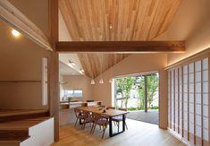 2015年度グッドデザイン賞受賞作品「『ナナメ』のある家」 Cool Designs, Divider, Room, House, Furniture, Home Decor, Bedroom, Decoration Home, Home