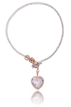 Romantyczna By Dziubeka :) #ByDziubeka #naszynik #necklace #jewelry #heart #romantic