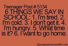 Cudnt have been more true #teenager #post