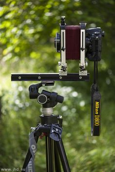 Large format photography with Nikon D800.