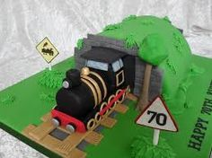 Image result for steam train cake topper