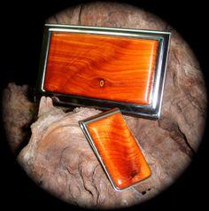 HANDMADE Figured Eastern Red Cedar  Exotic Wood Business by arena1, $68.00