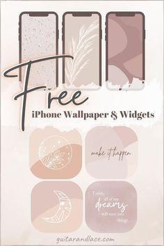 Free iPhone Wallpaper & Widgets – Part II | Guitar & Lace