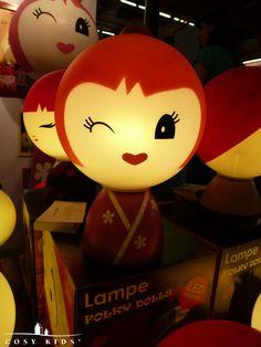 """Meet Miki!  Dit zuinige LED-lampje van het merk """"Folky Dolls"""" maakt het tijdens deze koude dagen toch net iets warmer in huis. #cosy #kids #folkydolls"""