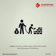#marketingbangalore #worlddayagainstchildlabour #childlabour #june12 Digital Marketing Services, Real Man, Kids Playing, Children, Instagram, Young Children, Boys Playing, Boys, Children Play