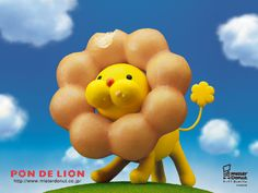 mister donut's iconic lion donut