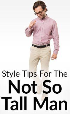 How A Short Man Should Wear Each Wardrobe Item