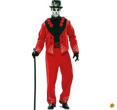 Zombie Kostüm Herren  Horror Herren-kostüm Grusel-Kostüm Halloween KK