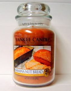 Banana Nut Bread Yankee Candles #YankeeCandle #MyRelaxingRituals